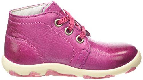 Superfit  LAURIE, Baskets premiers pas bébé Rose - Pink (DAHLIA KOMBI 74)