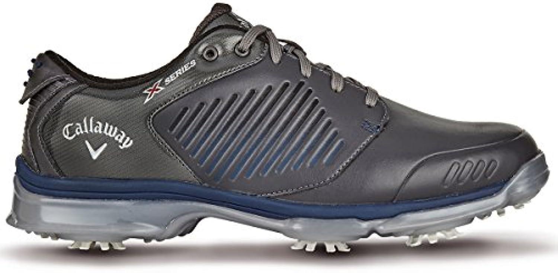 Callaway X-Series-Xfer Nitro Zapatillas de Golf, Hombre, Blanco (White), 45 EU