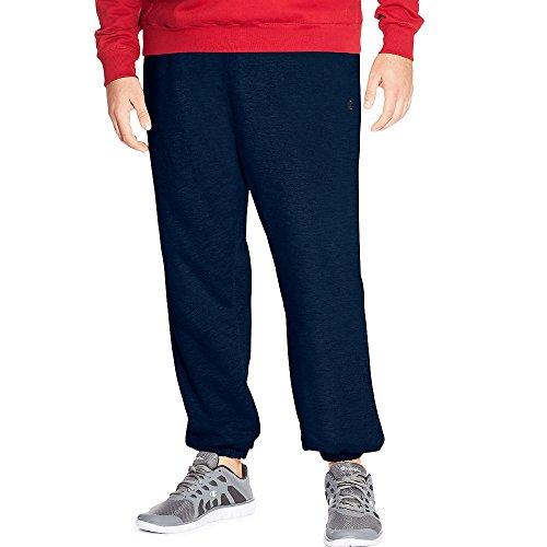 Champion Big & Tall, pantaloni tipo tuta in tessuto felpato, da uomo Navy