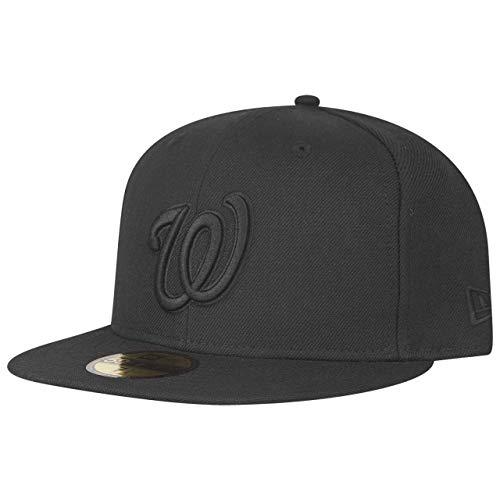 New Era 59Fifty Cap - MLB Black Washington Nationals - 7 7/8 (59fifty Nationals)