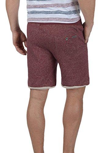 BLEND Reginal Herren Sweat-Shorts kurze Hose Sport-Shorts aus 100% Baumwolle Zinfandel (73006)