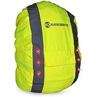Hochsichtbare Rucksackhülle mit blinkenden LED-Lichtern für Sichtbarkeit, wasserdichte Tasche, Rucksack-Abdeckung