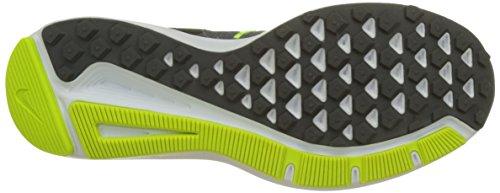 Nike Run Swift, Baskets Basses Athlétiques Pour Homme Gris (gris Froid / Noir-vert Volt-blanc-gris Foncé)