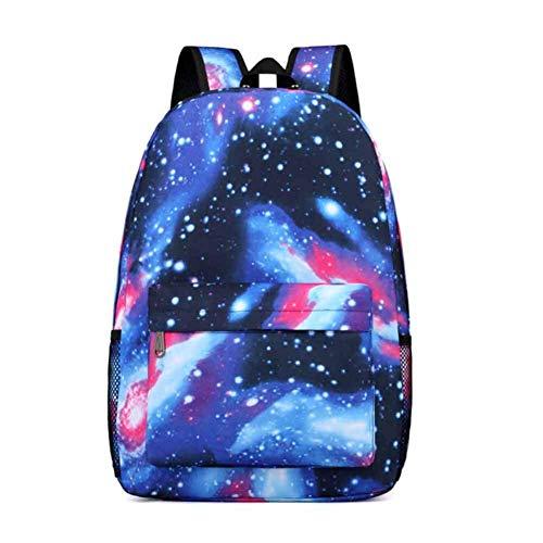 Zaino scuola ragazzi ragazze galassia rucksack zaino per borsa da viaggio zaini scuola superiore per adolescenti