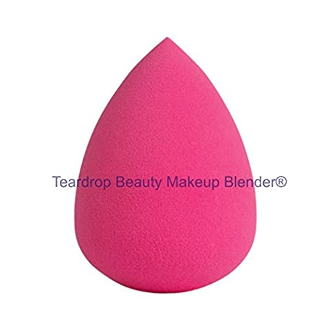 Original Teardrop Beauty Makeup Blender® FOUNDATION SPONGES WEDGE COSMETIC PUFFS (Pink Teardrop