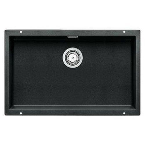 Preisvergleich Produktbild Blanco Subline 700-U Anthrazit Granit Spüle Schwarz Unterbaubecken Küchenspüle