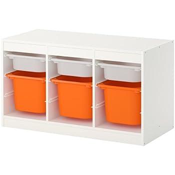 Zigzag Trading Ltd Ikea Trofast Combinaison De Rangement Blanc