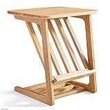 TX JIAOJIAO Alle Massivholz Seiten Tisch Ecke Tisch Mini-Couchtisch Wohnzimmer Einfache Moderne Mobile Couchtisch-Ecke Abstellregal