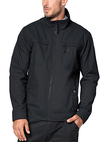 Jack Wolfskin Herren Camio Road Jacket Freizeitjacke, Phantom, S Travel Jacket