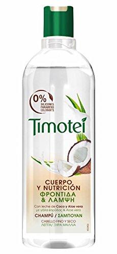 Timotei Shampoo Coco und Aloe Vera-4Pakete 400ml: Total: 1600ml -