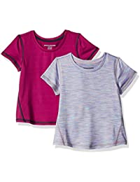 Amazon Essentials 2-Pack Short-Sleeve Active Tee Bimba 0-24