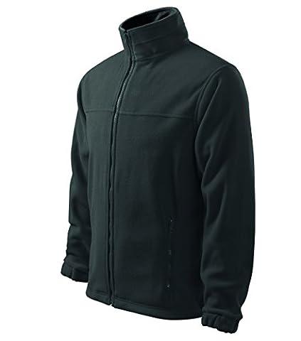 Herren Fleecejacke Freizeitjacke Outdoor Pullover Fleece (Dunkelgrau, XXXL)