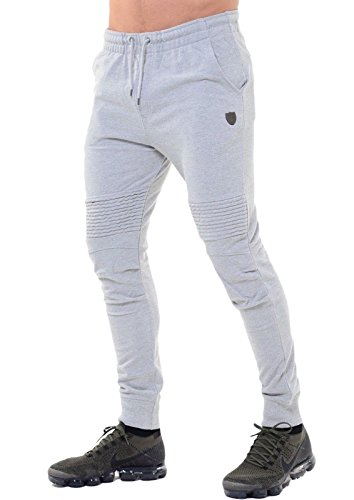 883 Police Mens Joggers Designer Fashion Skinny Slim Fit Cuffed Leg Tracksuit Jogging Bottoms Pants Trousers