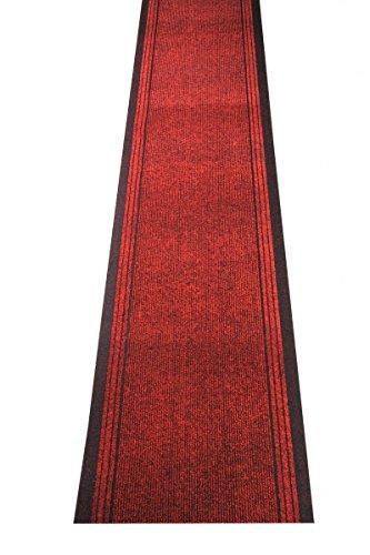 Küchenteppich / Küchenmatte / Teppichläufer Kongo rot, Größe Auswählen:80 x 200 cm