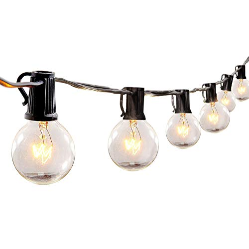 Cafe Lights By Like 25ft G40 Bulbs (25 bulbs)