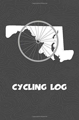 Cycling Log: Maryland Cycling Log for tracking and monitoring your workouts and progress towards your bicycling goals. A great fitness resource for ... Bicyclists will love this way to track goals!
