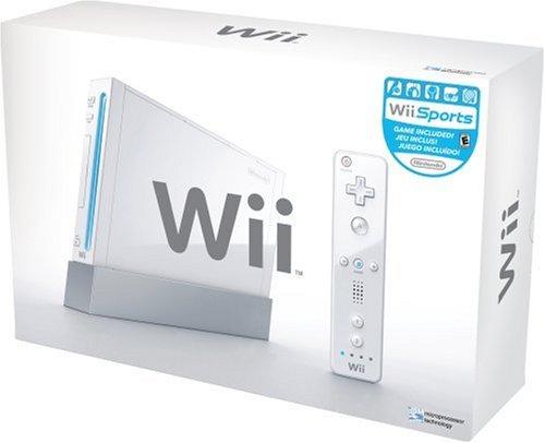 Wii - Konsole #weiß (inkl. Remote & Zubehör) (gebraucht) Nintendo Wii-konsole