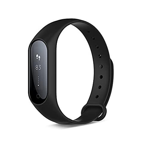 Yuntab Bluetooth 4.0 HR Y2 plus Fitness Activity Tracker Heart Rate Monitor, IP67 waterproof Smart Bracelet Fitness Wristband Blood pressure monitor Pedometer with Step Tracker/Calorie Counter/Sleep Tracker /Clock Elegant Touch Screen Compatible with Samsung, HTC, LG, Sony, Huawei Smartphones Android and iOS (Black)