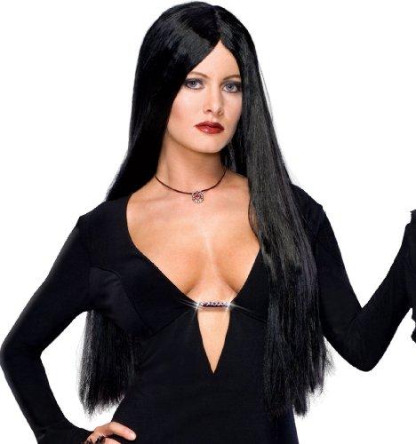 Addams Family - Morticia Perücke (Morticia Perücke Addams)