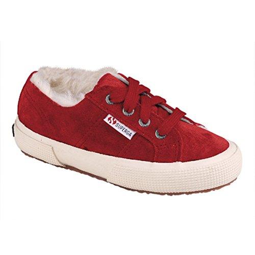 Superga S002880 2750-SUEBJ, Unisex - Kinder Sneaker Beet