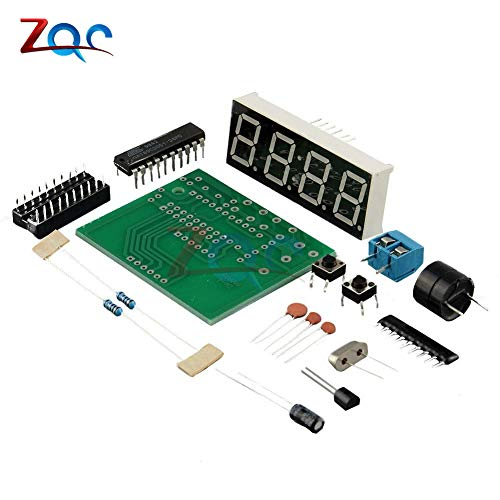 AT89C2051 Digital LED Display 4 Bit elektronische Uhr elektronische Produktions Suite DIY Kit