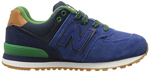New Balance Kl574nwp-574, Sneakers Hautes Mixte Enfant Blue/Green