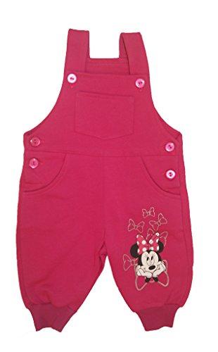 Super Süsses Minnie Mouse Mädchen Baby Latzhose Freizeithose Pumphose in Grösse 68 104 Baumwoll von Disney erstklassige Qualität in Rosa 6 9 12 Monaten 1 2 3 Jahre Herbst warm Größe 68 (Form Passende Trainingshose)