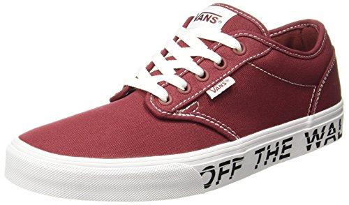 Für Männer Rote Vans Sneaker (Vans Herren Atwood Sneaker, Rot (Printed Fox), 42 EU)