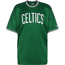 A NEW ERA Era NBA Tipping Wordmark tee Boscel Chaqueta, Hombre, Green, L