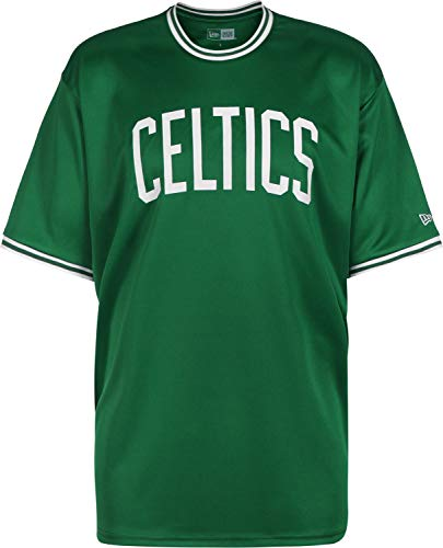 A NEW ERA Era NBA Tipping Wordmark Boston Celtics Camiseta Kelly Green