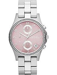 Marc Jacobs MBM3297 - Reloj para mujer con correa de acero, color plateado / gris