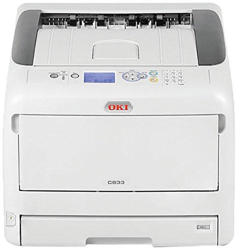Oki Color Drucker (OKI C833n Color Drucker A3 netzwerkfähig)