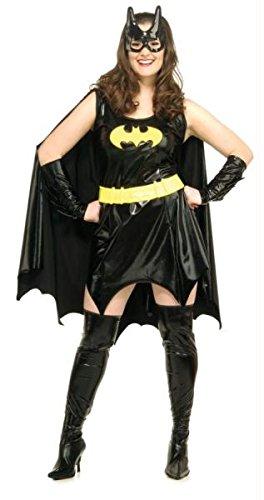 Batgirl Plus Size (Batgirl Erwachsene Plus Kostüme)