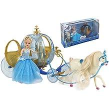 ColorBaby Muñeca Princesa+carroza y Unicornio Color Baby 44140