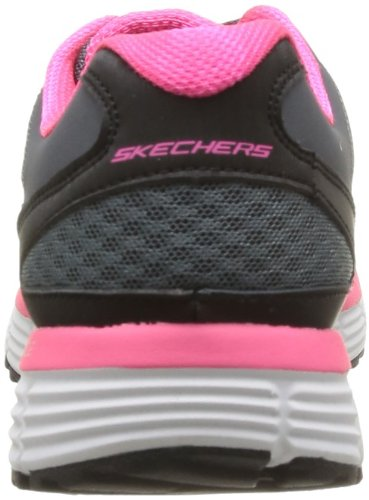 Skechers Agility Free Time, Baskets mode femme Gris (Cchp)