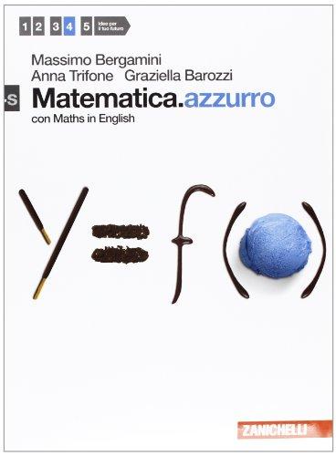 Matematica.azzurro. Vol. 4s. Per le Scuole superiori. Con espansione online