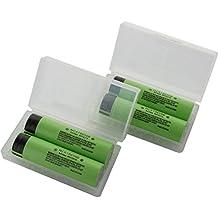Panasonic NCR18650B X4 - Pack de 4 baterías de ión de litio