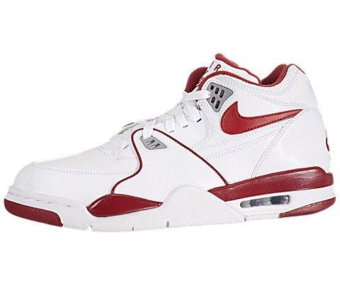 Nike, Sneaker Uomo, (Whie Red), 8 UK