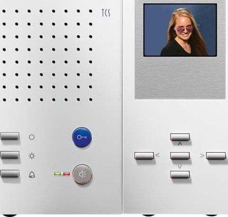TCS IMM2300-0140 Video color Innenstation zum Freisprechen 5 + 5 Tasten IMM2300 white