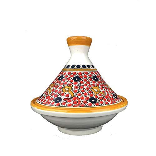 Marokkanischer Tajine Tagine aus Keramik handbemalt-EEF