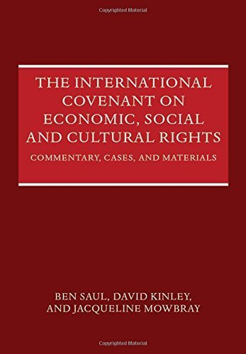 The International Covenant on Economic, Social and Cultural Rights: Commentary, Cases, and Materials by Ben Saul (2014-05-06)
