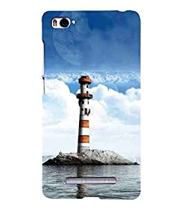 For Xiaomi Mi 4i :: Xiaomi Redmi Mi 4i tower Printed Cell Phone Cases, light Mobile Phone Cases ( Cell Phone Accessories ), nature Designer Art Pouch Pouches Covers, peace Customized Cases & Covers, clouds Smart Phone Covers , Phone Back Case Covers By Cover Dunia