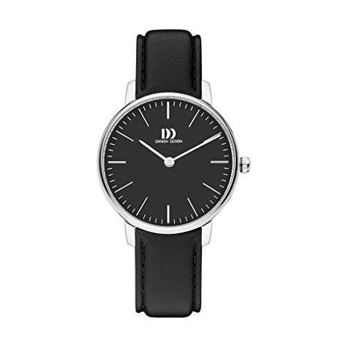 Danish Design Reloj Analogico para Unisex de Cuarzo con Correa en Cuero IV13Q1175