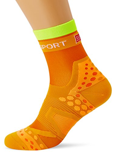 Compressport Run Ultralight - Calcetín de running unisex, color naranja, talla 2