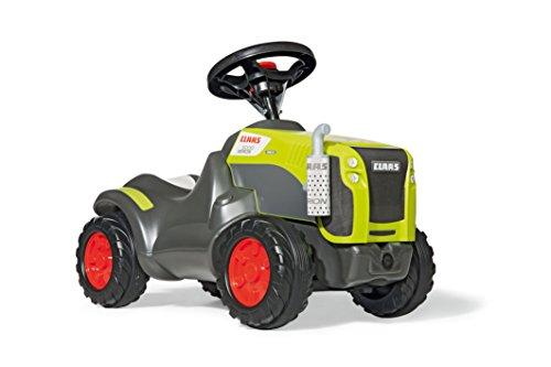Rolly Toys Trettraktor rollyMinitrac Claas Xerion, Babyrutscher mit Flüsterreifen, Rutschauto für Kinder ab 1.5 - bis 4 Jahre, grün, 132652