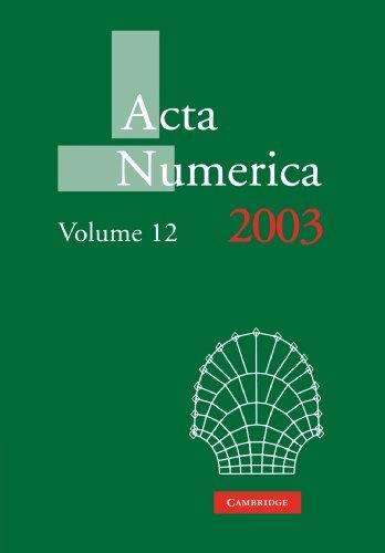 Acta Numerica 2003: Volume 12 Paperback