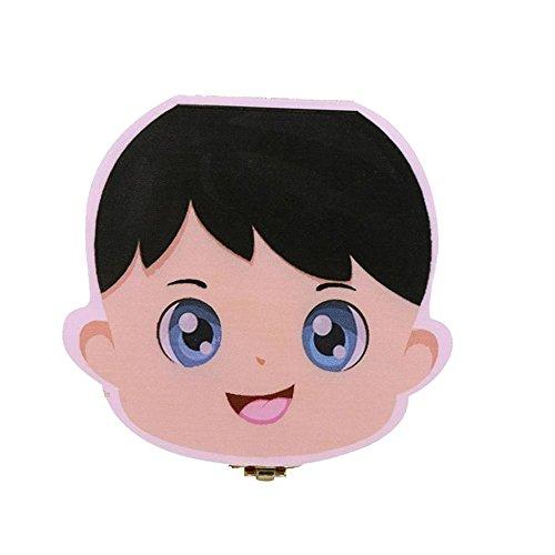 9bf7b73f85c2f Rameng bébé En Bois Dents de lait Boîte de rangement pour 1-6 ANS Enfants