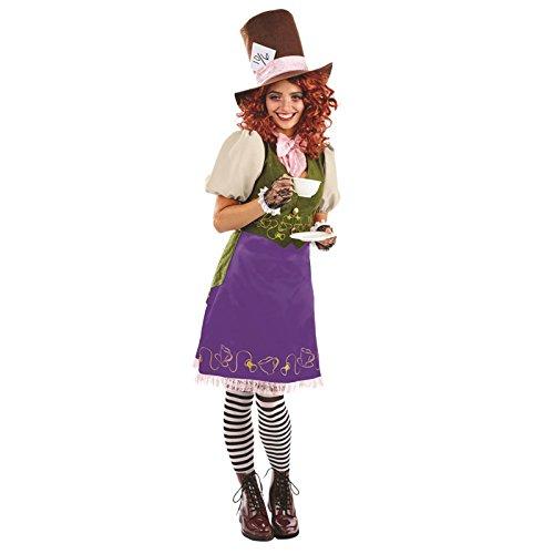 Frau Hutmacher Alice im Wunderland Kostüm (Wunderland Frau Alice Kostüme Im)