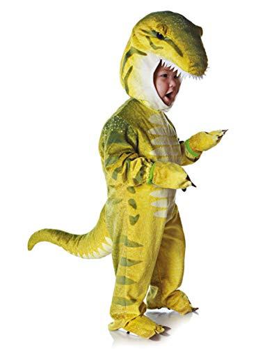 Horror-Shop Grünes T-Rex Dino Faschingskostüm für Kleinkinder & Babys L (Kleinkind Kostüm T-rex)