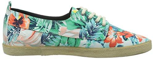Faguo Fig, Damen Sneaker Mehrfarbig - Multicolore (Imprimé Floral)